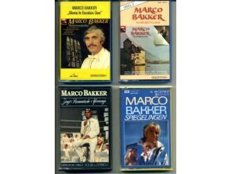 Marco Bakker 4 verschillende cassettes zeer mooie staat