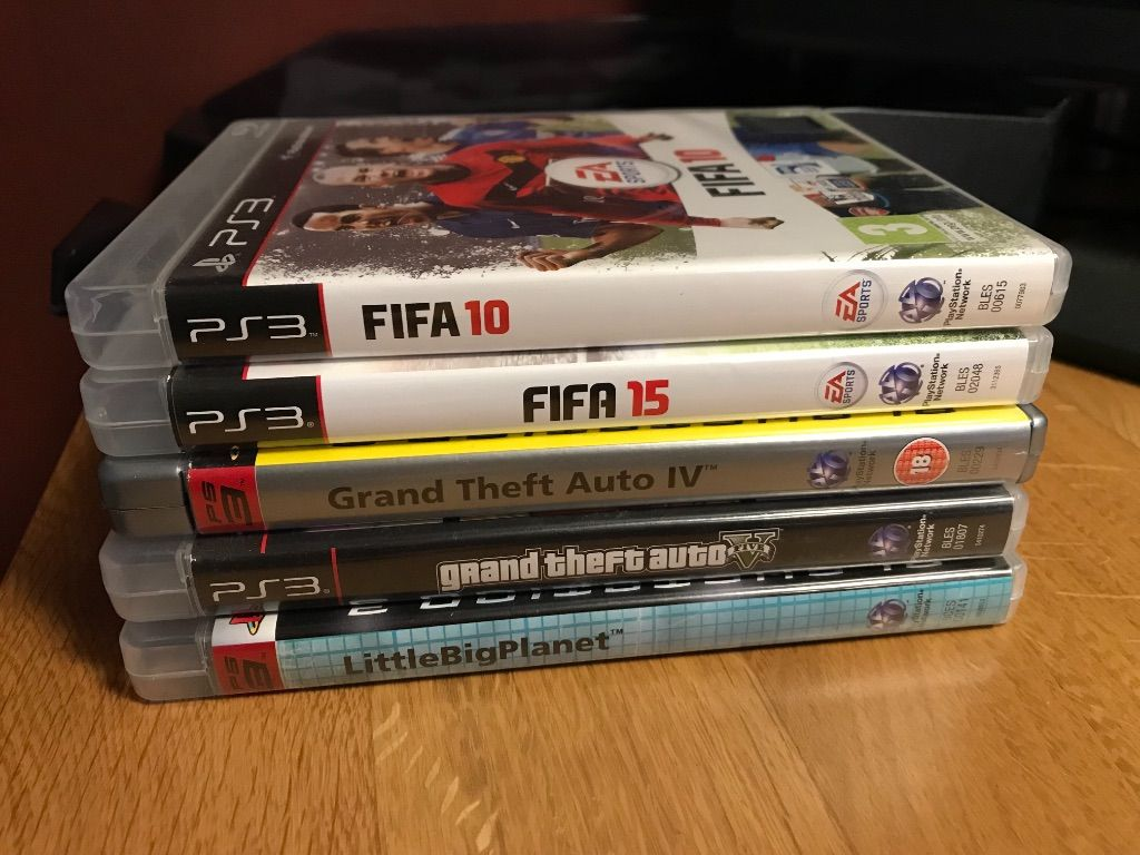 5x Play Station 3 Games