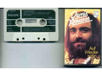 Demis Roussos Auf Wiedersehen 12 nrs cassette 1974 ZGAN