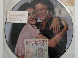 Kris & Rita Natural Act Picture Disc Limited Edition 1979