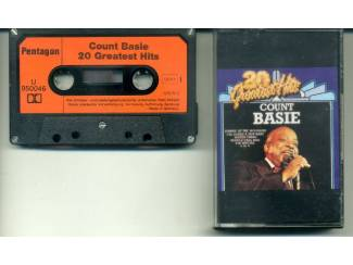 Count Basie 20 Greatest Hits cassette ZGAN