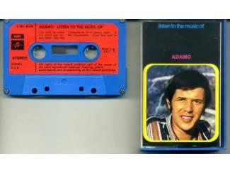 Adamo Listen to the music of Adamo 12 nrs cassette ZGAN