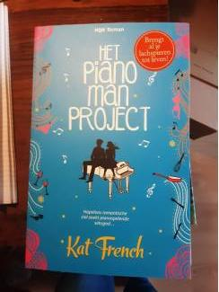 Kat french,  het pianoman project
