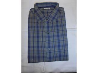 Vintage overhemd No Iron ruit motief maat 37