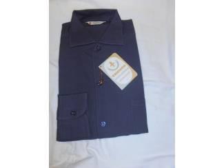 Vintage overhemd Trenco Sportshirt donkergrijs maat S