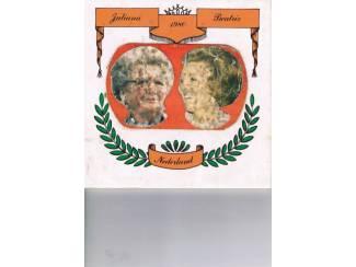 Tegel 1980 Juliana en Beatrix
