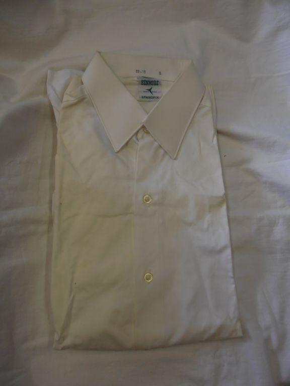Vintage overhemd Kenmore wit maat 38 (geen karton)