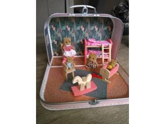 Speelgoed | Poppen en Poppenhuizen Tiny playHouse, poppenkoffer