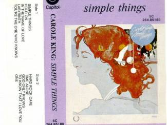 Cassettebandjes Carole King Simple Things 10 nrs cassette 1977 ZGAN