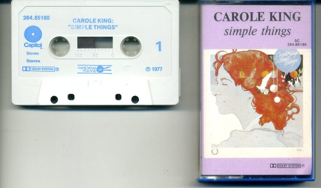 Carole King Simple Things 10 nrs cassette 1977 ZGAN
