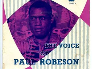 The Voice Of Paul Robeson Volume II vinyl EP single 4nrs 1957