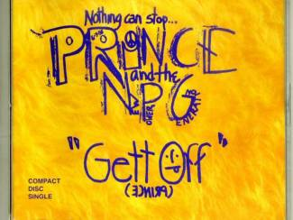 Prince and the NPG Gett Off 3 nrs cd single 1991 ZGAN