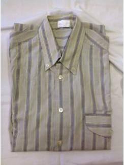 Vintage overhemd Hi Fever button down streep maat 37/38