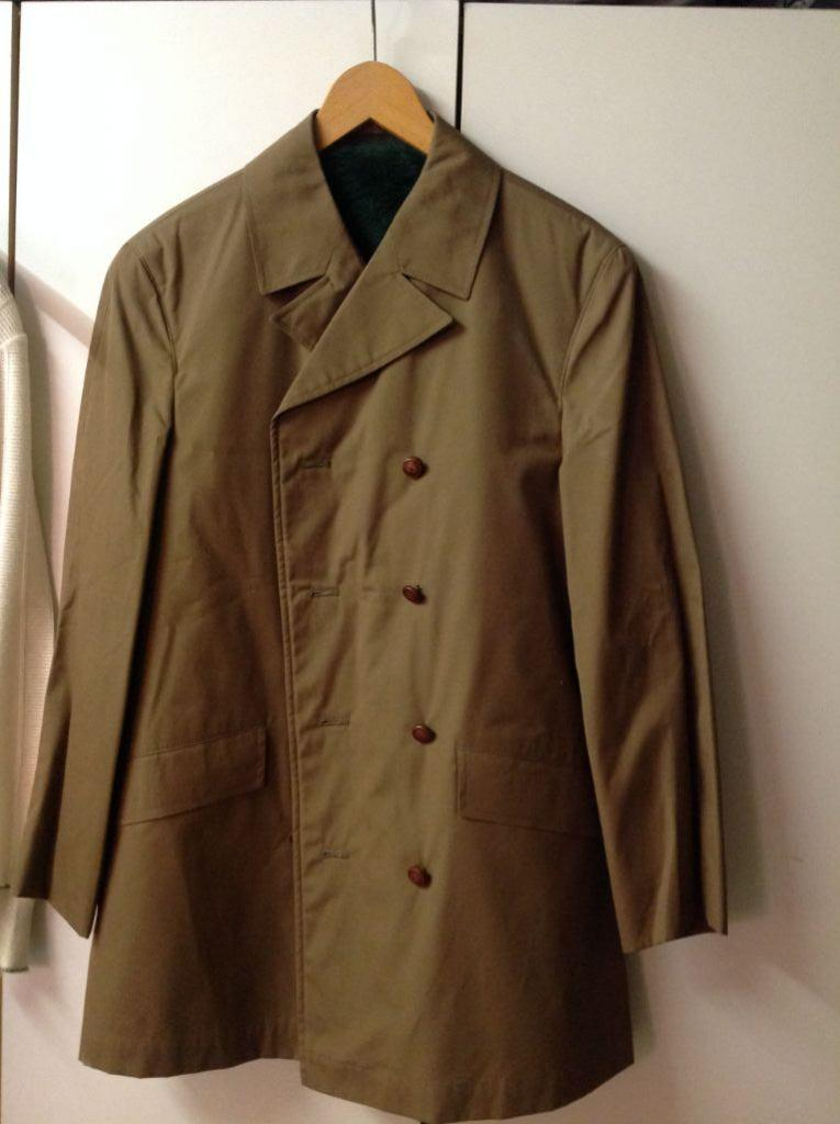 Vintage herenjas, Kreymborg, kort model, maat geschat 44/46