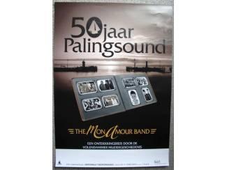 The Mon Amour Band 50 jaar Palingsound Theaterposter NIEUW