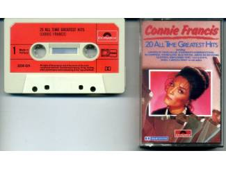 Connie Francis 20 All Time Greatest Hits cassette 1979 ZGAN