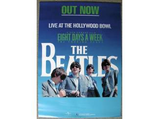The Beatles Live At The Hollywood Bowl promotie poster NIEUW