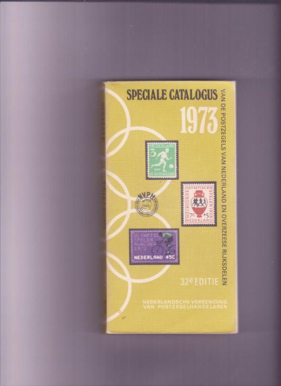 Postzegel catalogus 1973 Nederland en overzeese rijksdelen.