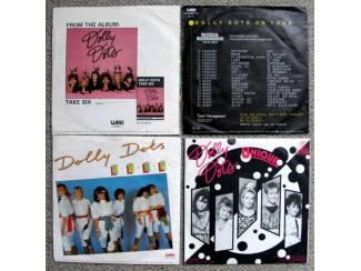 Grammofoon / Vinyl Dolly Dots 4 verschillende vinyl singles €10 mooie staat