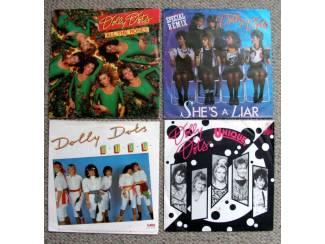 Dolly Dots 4 verschillende vinyl singles €10 mooie staat