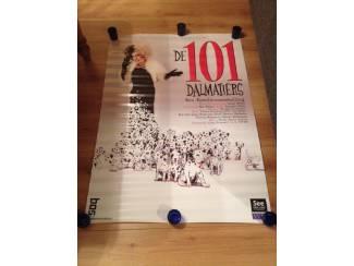 Poster theater voorstelling 101 dalmatiërs ( Bos , Rubinstein )