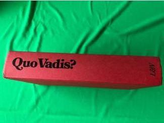 Quo Vadis . Een verhaal uit de tijd van Nero . ( H. Sienkiewicz)