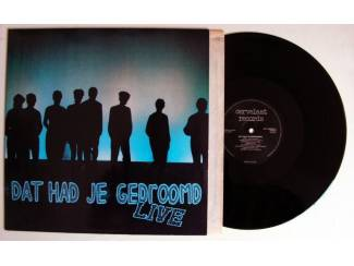 Musical Dat had je gedroomd live 15 nrs LP 1983 ZGAN