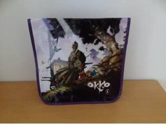 Okko strip tas ( Silvester strips promo ) nieuw paars illustratie