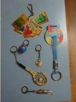 NICI giraf  beauties jewelry key chain ( sleutelhanger ) nici