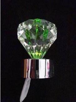 Batterij lichtje wisselende kleuren vorm diamant