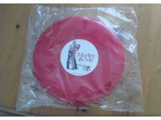 Frisbee rood nieuw Marley and Me film gadget doorsnee 20 cm