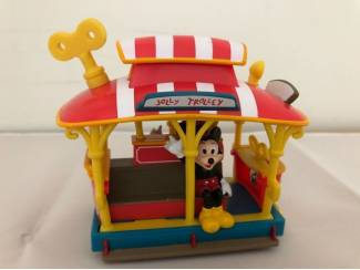 Disney Toontown Mickey Mouse Minnie Mouse streetcar tram