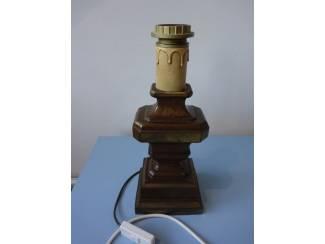 Brons lampvoet met snoer bronzen voet lamp 33 cm