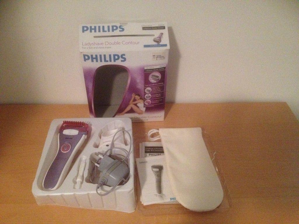 Lader voor Philips ladyshave HP6335 , incl. Tas en borstel