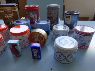 Blikken Blik  Cappuccino Cream wafer blik luxury ( geheel metaal )