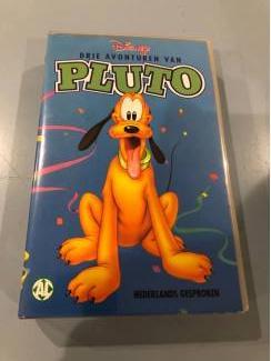 Disney videoband : drie avonturen van Pluto.