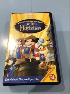 Disney videoband : de drie musketiers.
