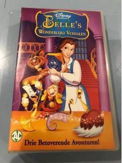 Disney videoband : Belle's wonderlijke verhalen .