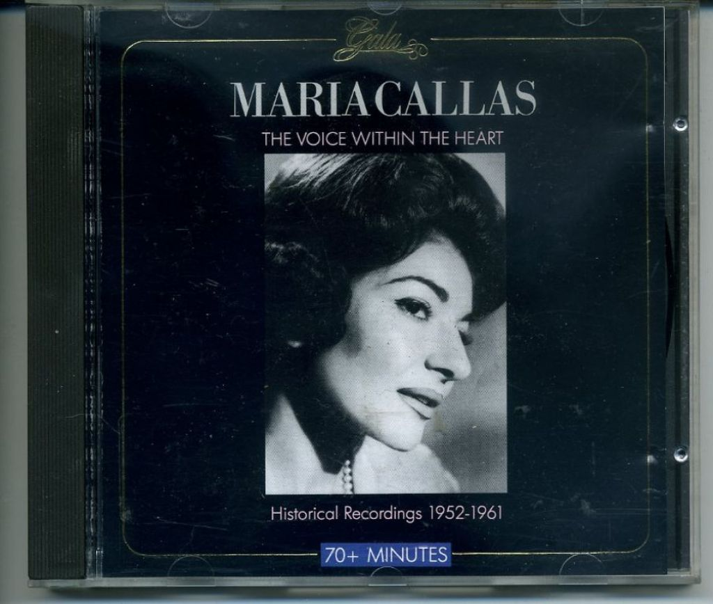 Maria Callas The Voice Within The Heart 16 nrs cd 1988 ZGAN