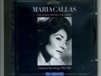 CD Maria Callas The Voice Within The Heart 16 nrs cd 1988 ZGAN