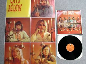 The Cats Aglow 13 nrs LP 1971 met GROTE POSTER