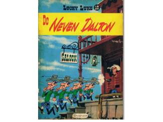 Lucky Luke 12 – De neven Dalton. 1e druk 1959.