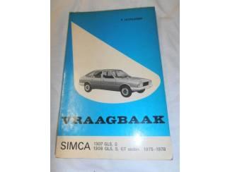 Instructieboekje Simca 1307 door P. Olyslager