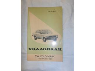 Instructieboekje VW Polo en Derby door P.H. Olving