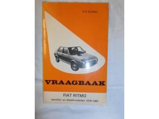 Instructieboekje Fiat Ritmo '78-'82 door P.H. Olving