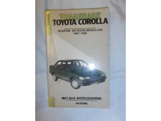 Instructieboekje Toyota Corolla '87-'89 door P.H. Olving