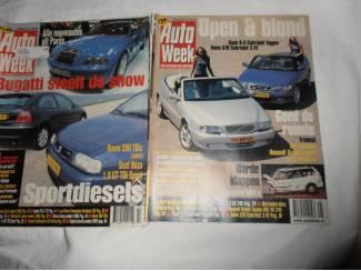 Autoboeken en Autotijdschriften Autoweek set 2