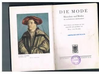 Antiquarische boeken Die Mode im sechzehnten Jahrhundert.