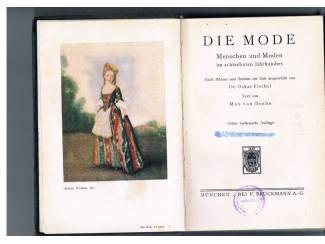Die Mode im achtzehnten Jahrhundert