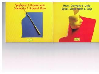 Cd's | Klassiek 4 catalogi CD's van DGG